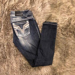 Vigoss Chelsea Super Skinny Jeans. Size 27.